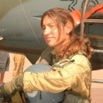 Commandant Anne-Laure MIchel pilote de Mirage F1CT